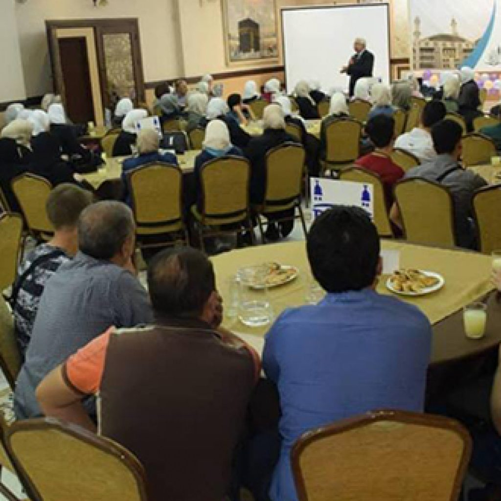 يوم تعريفي بجامعة بلاد الشام