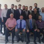 زيارة الخريجين للجامعة بلاد الشام