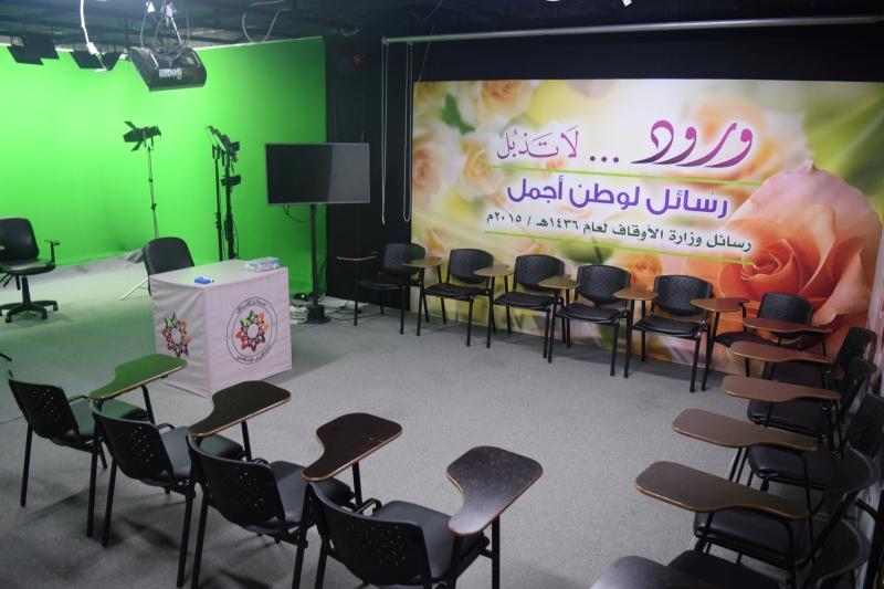 الاستديو الاعلامي بمجمع الشيخ احمد كفتارو